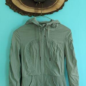 lululemon athletica Jackets & Coats - Lululemon Studio Jacket in Earl Grey 6 like new